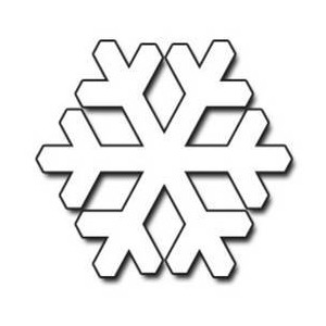 300x300 Snowflake Clipart Black And White Many Interesting Cliparts