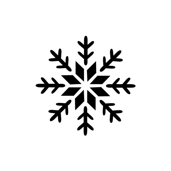 600x600 Snowflake Printable Stencils To Use For Decorating Cake Disney