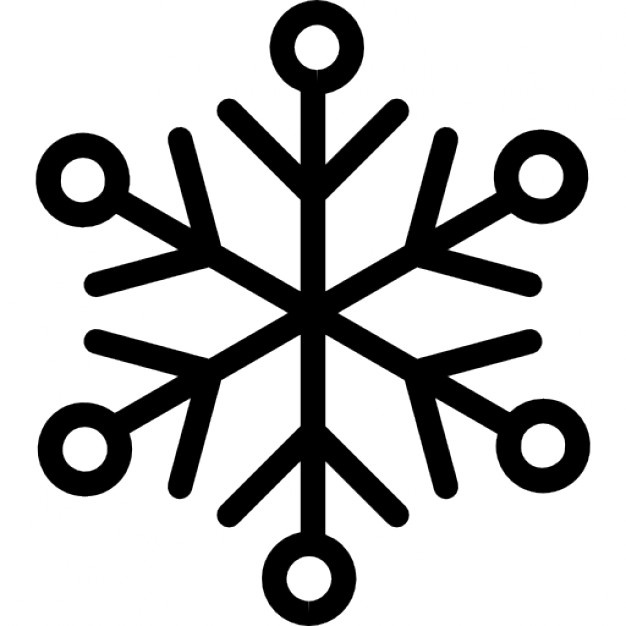 626x626 Snowflake Lines Icons Free Download