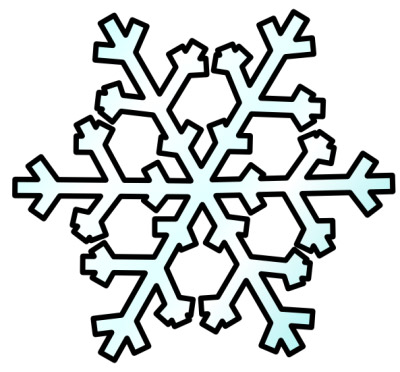 400x372 White Snowflake Clipart Many Interesting Cliparts