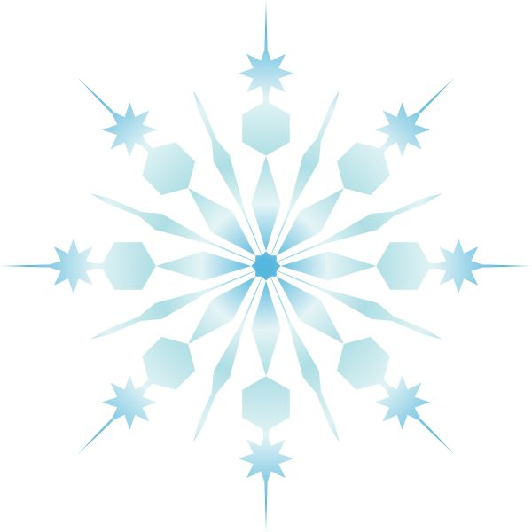 600x600 Snow Clipart Small Snowflake
