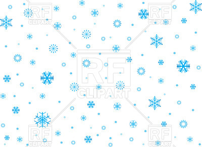 400x293 Snowflake Background Royalty Free Vector Clip Art Image