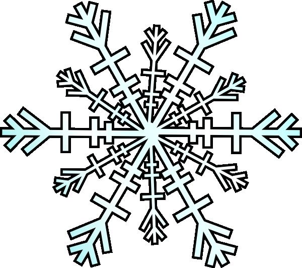 600x532 Top 75 Snowflake Clip Art