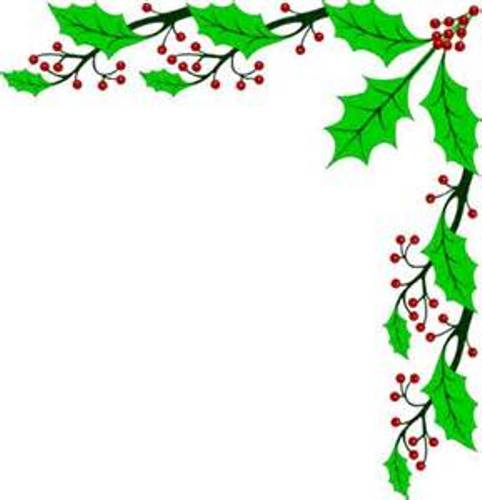 482x500 Christmas Snowflakes Borders Clipart