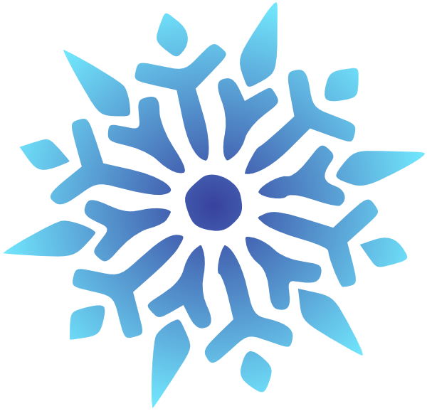 600x578 Snowflake Clipart