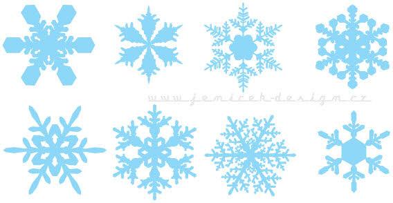568x294 Snowflake Clipart Illustrator