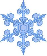 167x198 Free Snowflake Clipart