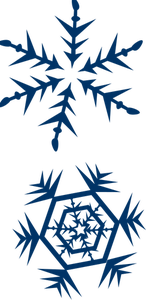 146x300 477 Winter Clipart Snowflake Public Domain Vectors