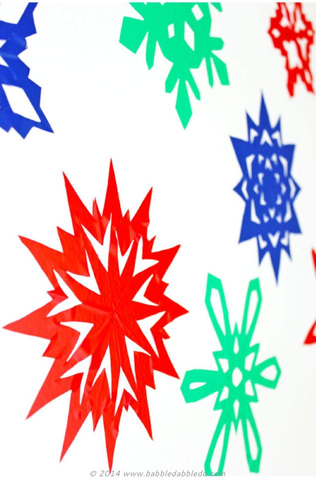 634x961 Sticky Snowflakes