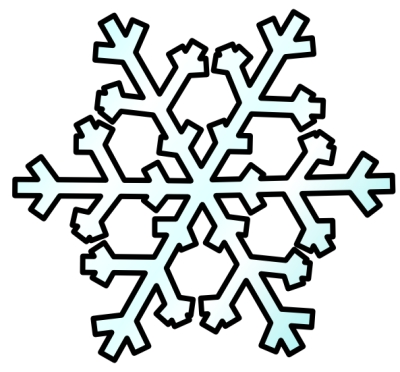 400x372 Top 10 Free Clipart Snowflakes