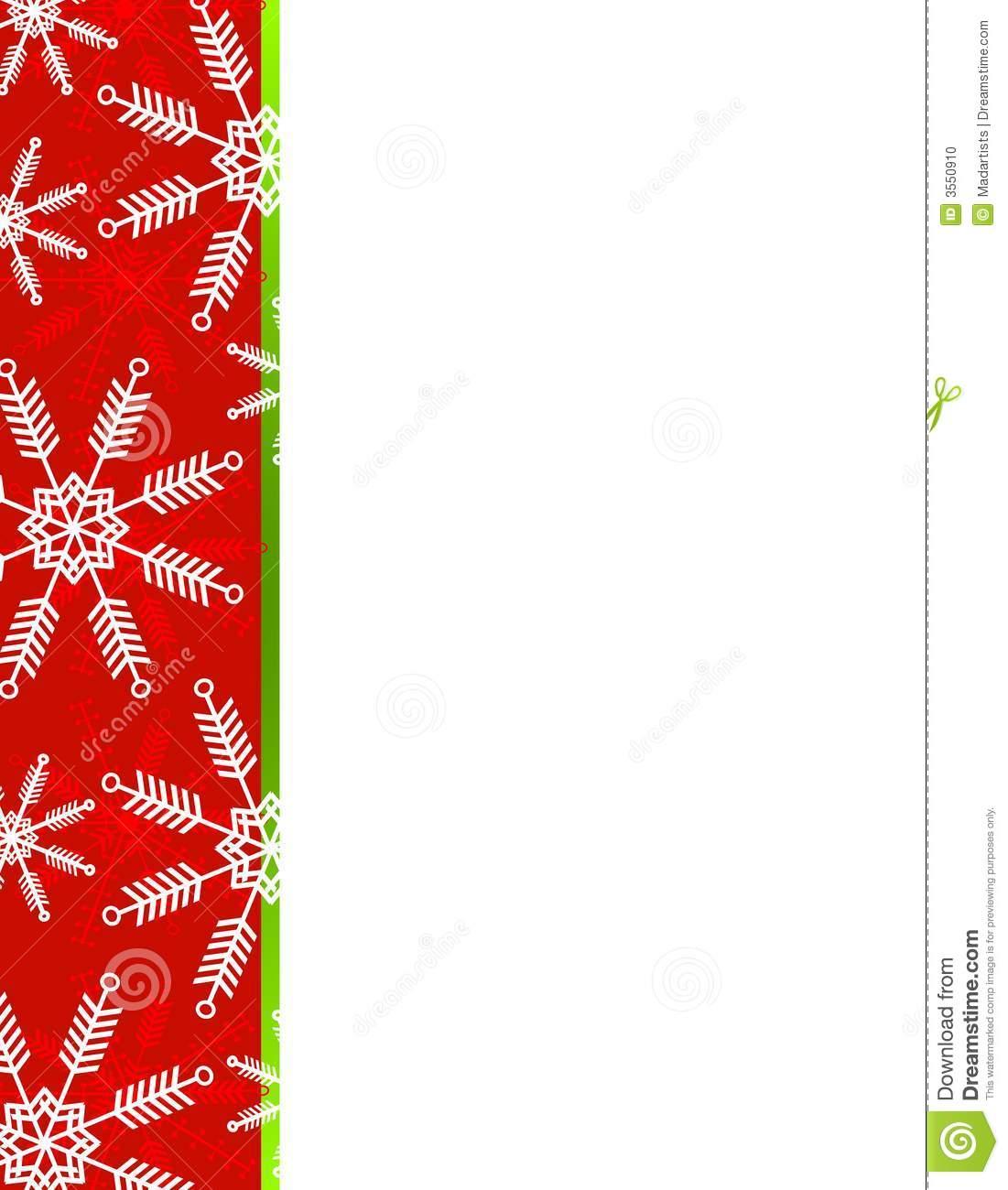 1101x1300 Christmas Snowflake Border Clipart