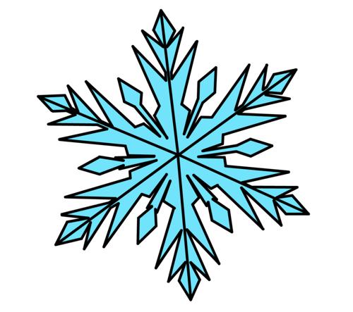 500x443 Disney Snowflakes Clipart