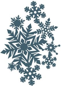 214x300 Free Snowflake Digital Cut Files Sillouette Filing