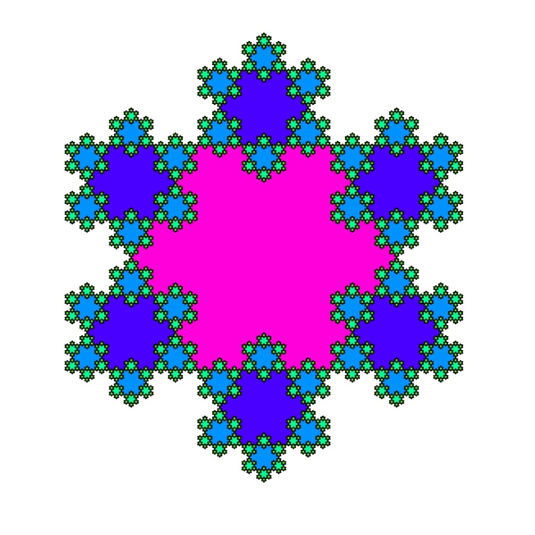 1044x1044 Koch Snowflakes Meandering Through Mathematics