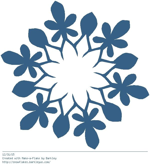 600x655 2397 Best Paper Snowflakes Images Templates