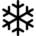 128x128 Snowflake Lined Icons Free Download