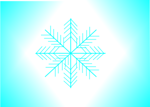 300x214 Snow Flake Clip Art