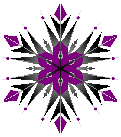400x453 Snowflake Clipart Tumblr Transparent