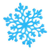 170x170 White Snowflake Clipart Transparent Background