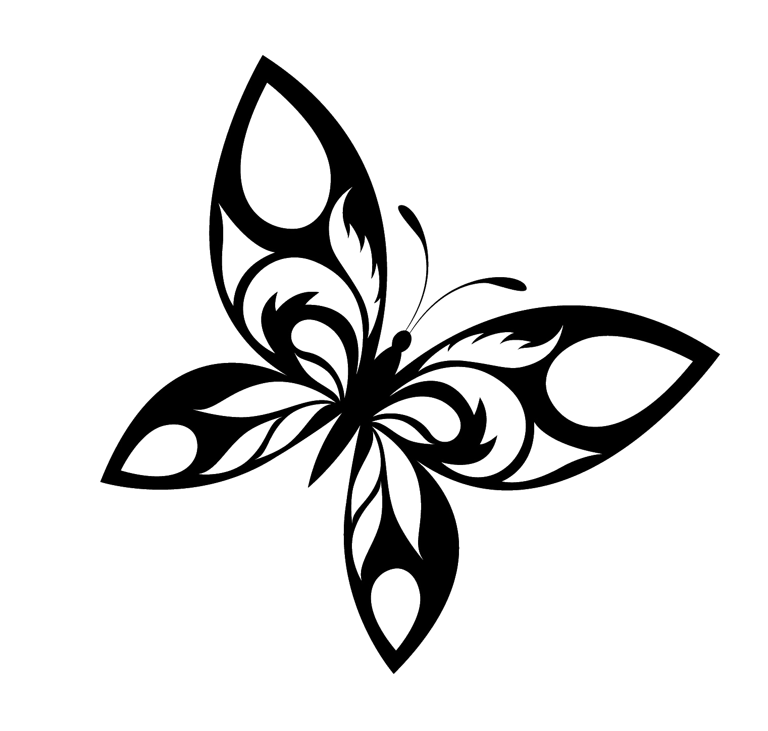 1521x1448 Butterfly Tattoo Designs Free