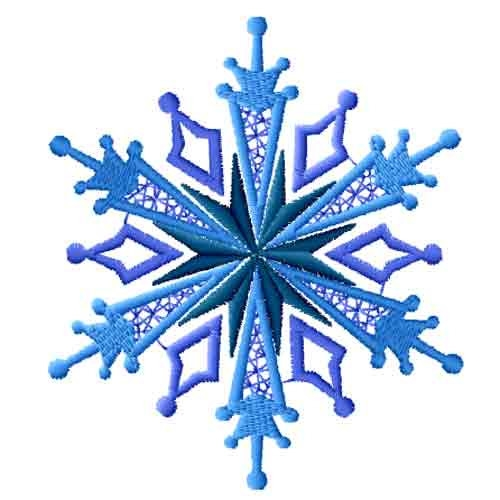 500x500 Clipart Snowflake No Background