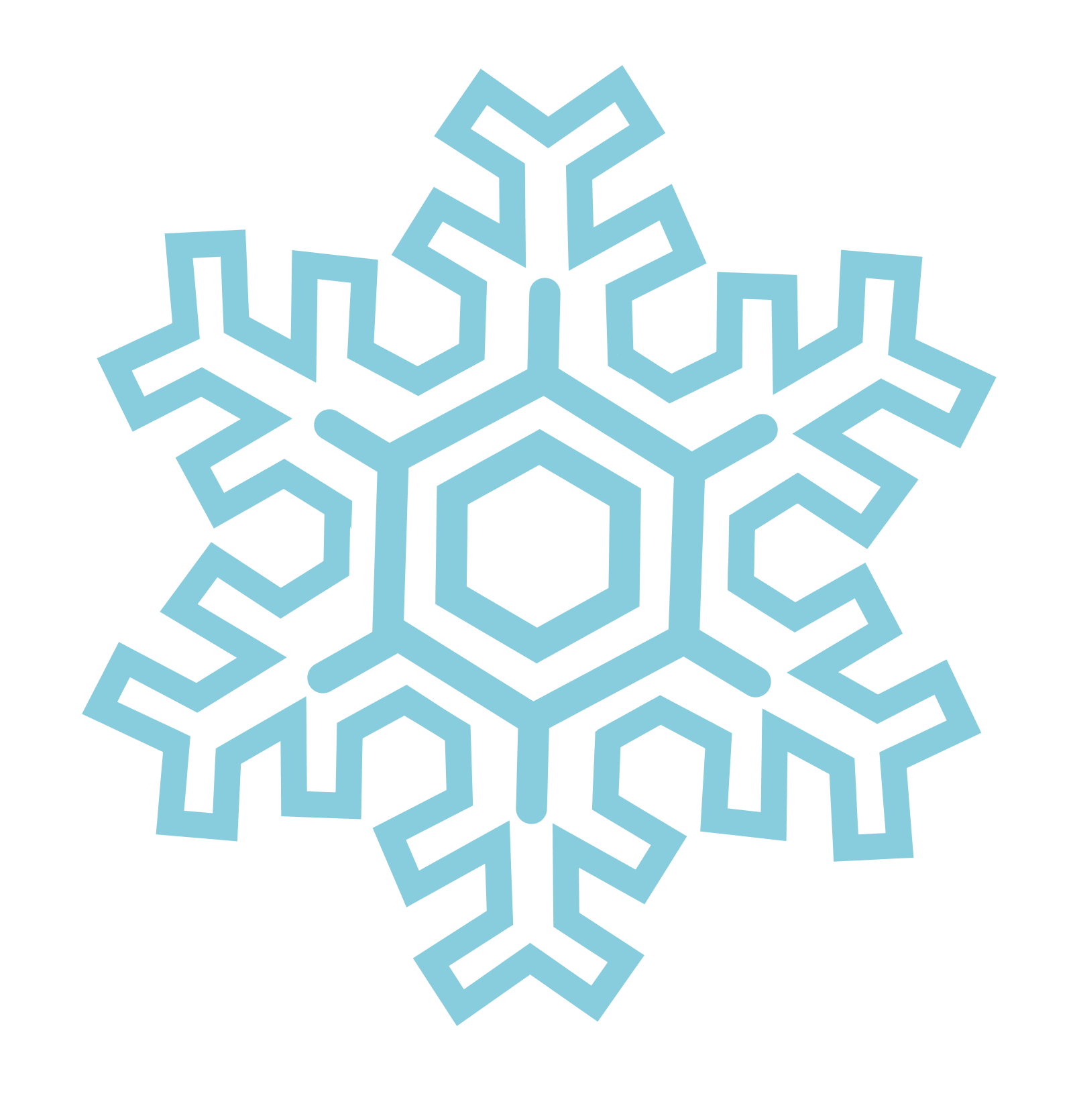 1600x1670 Snowflakes Png Images Free Download, Snowflake Png