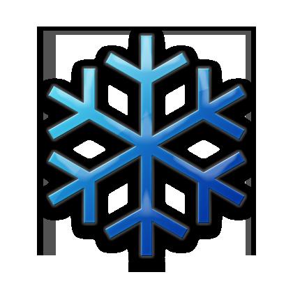 420x420 Snowflake Clipart Basic