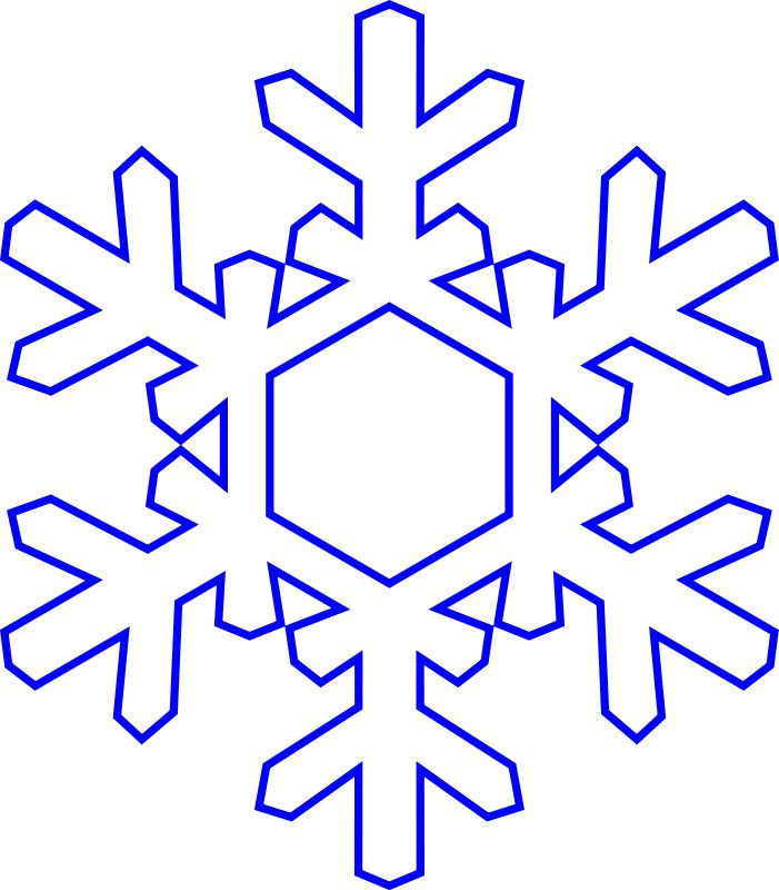 701x800 Snowflakes Snowflake Clipart Transparent Background Free