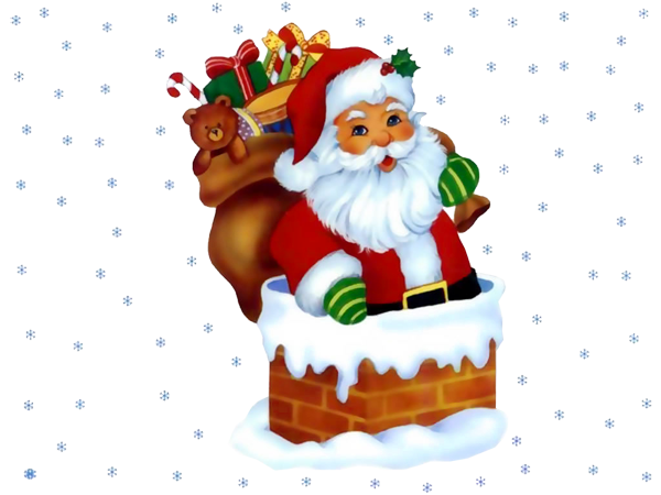 600x450 Transparent Santa Claus With Snowflakesu200b Gallery Yopriceville