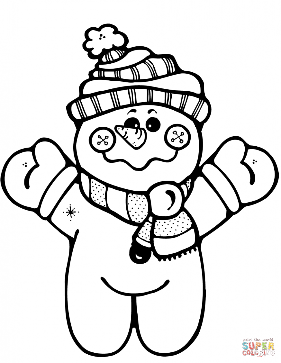 974x1260 Coloring Pages Snowmen Coloring Page Happy Snowman Pages Snowmen