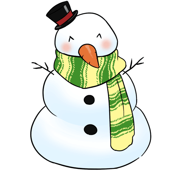 600x600 Top 92 Snowman Clip Art
