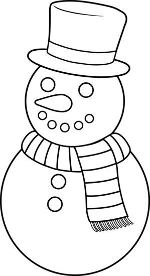 299x550 White Snowman Cliparts 275101
