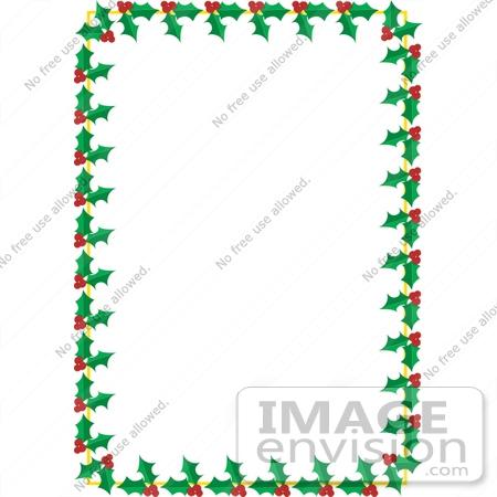 450x450 Christmas Letter Borders Clip Art