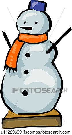 251x470 Clip Art Of Snowman, Winter, Season, Nature, Natural Phenomenon