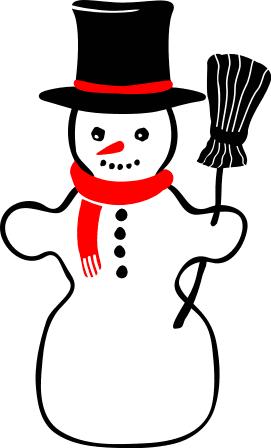 271x448 Free Snowman Clipart Christmas Clip Art Images