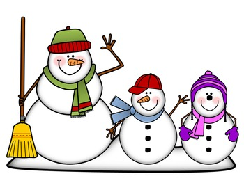 350x263 Snowman Clip Art Snow Peeps! {By Busy Bee Clip Art} By Sarah Warner