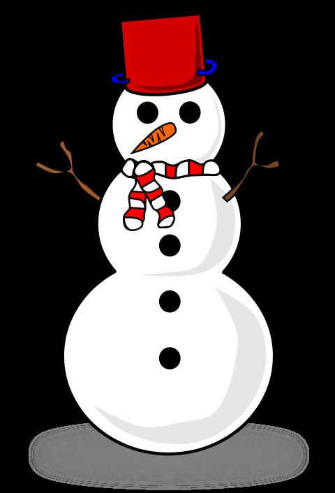 480x706 Snowman Clipart 2