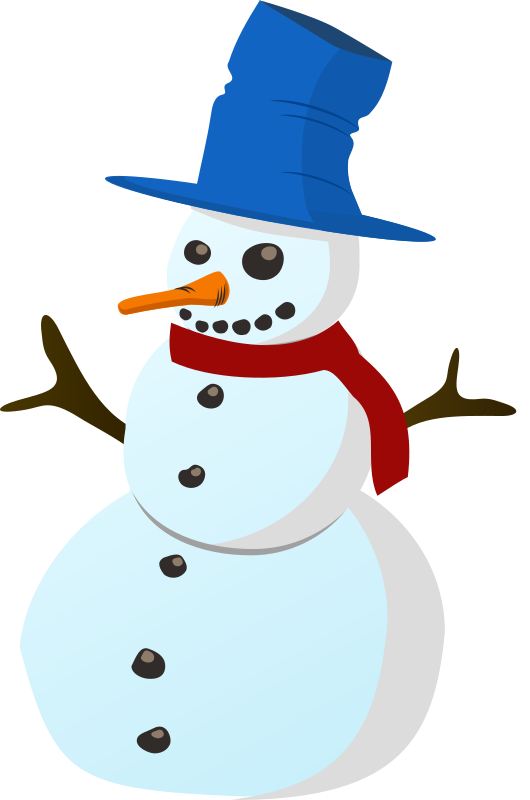 530x800 Snowman Free To Use Cliparts