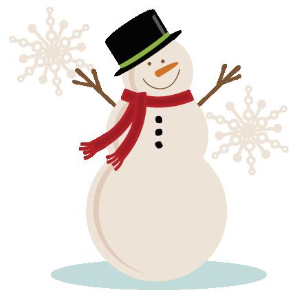 432x432 Snowman Clip Art