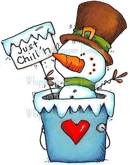 432x550 Cartoon Snowman Clipart