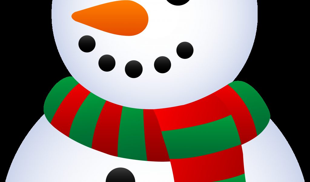 1024x600 Snowman Clip Art Classic