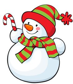 Snowman Clipart Background