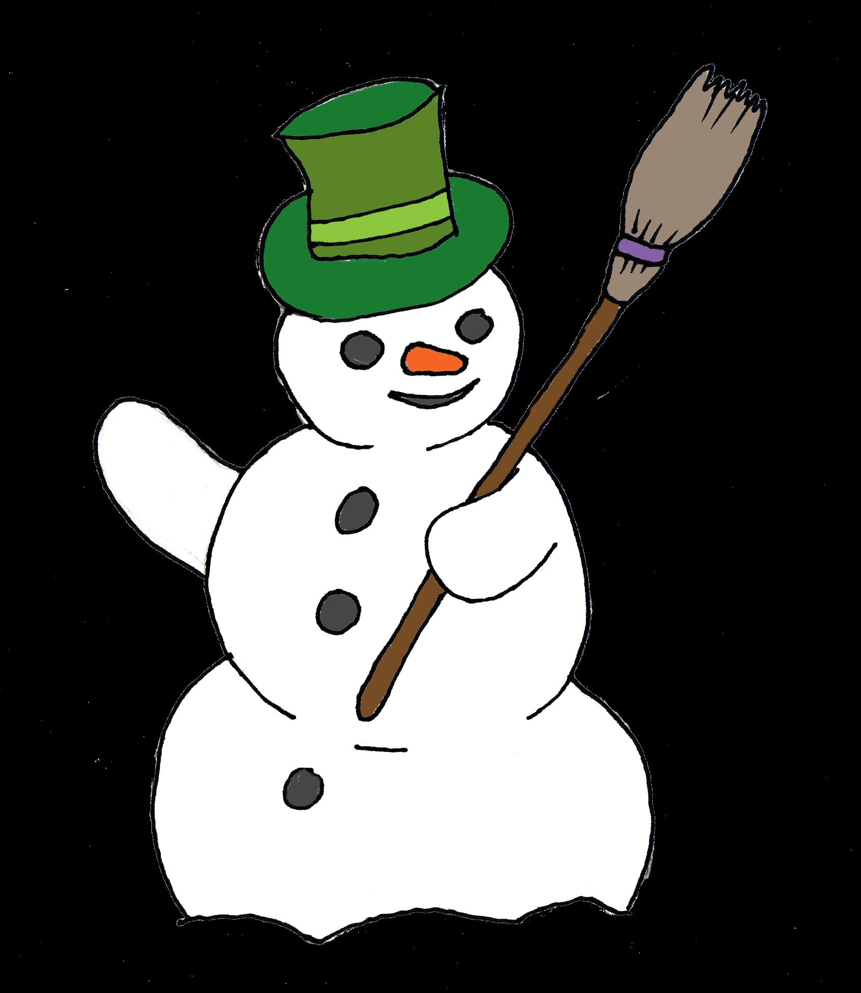 1690x1948 Snowman Clipart Man