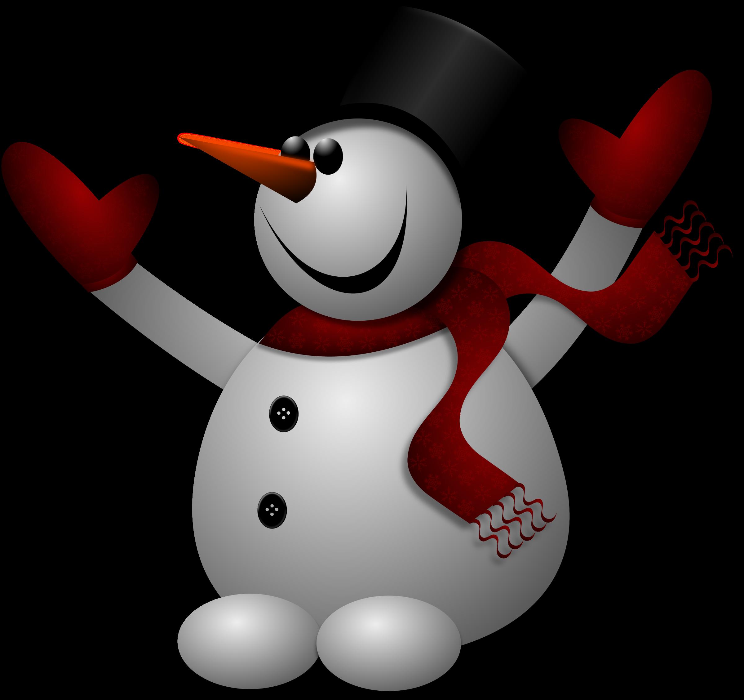 2400x2257 Snowman Clipart Transparent Background