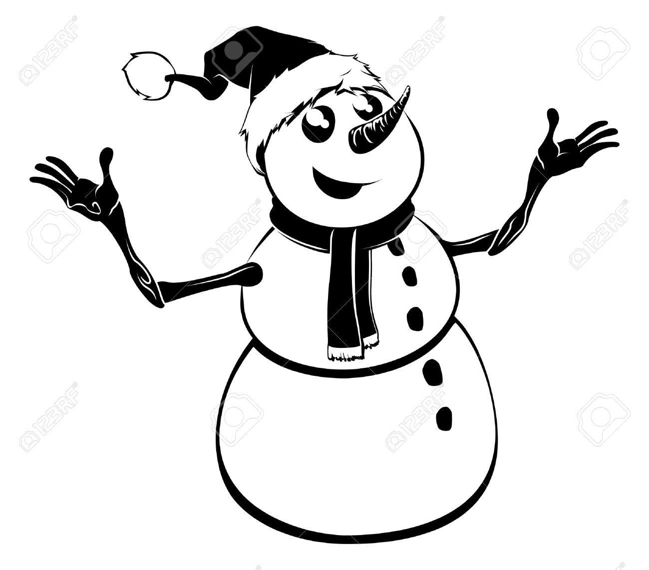 1300x1142 Caol Clipart Snowman