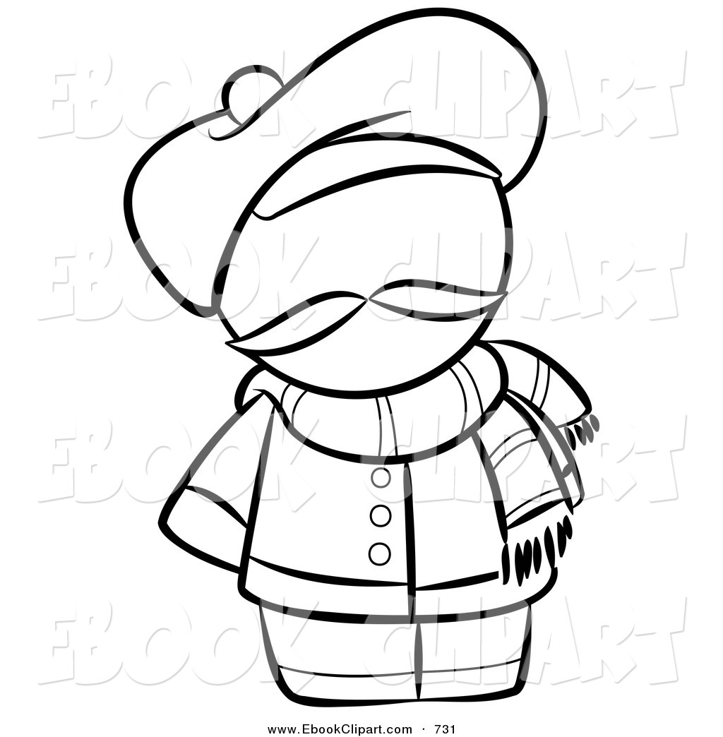 1024x1044 Clip Art Black And White Scarf Clipart