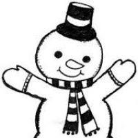 200x200 Snowmen Clipart