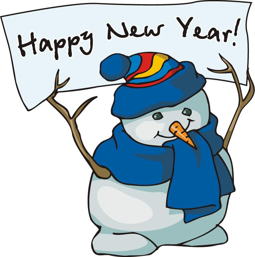 858x864 free clip art happy new year many interesting cliparts