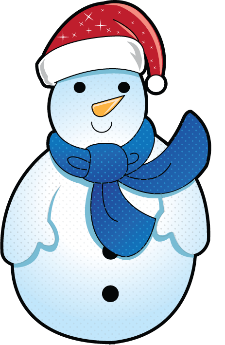 463x708 Frosty Cliparts Border 213421