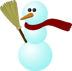300x297 Snowman Clip Art